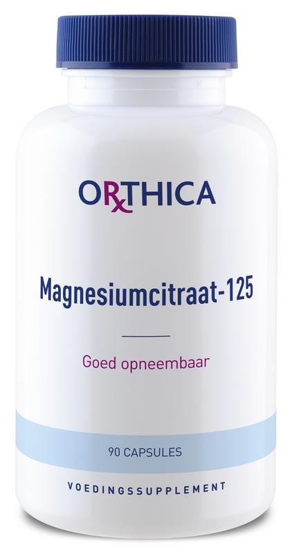 Magnesium citraat 125 - 90 capsules