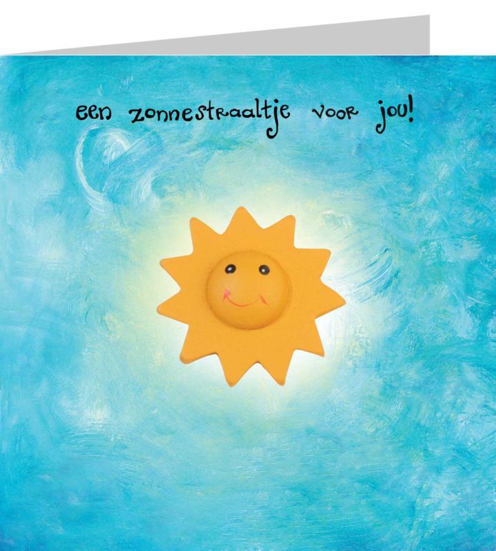 Wenskaart - Een zonnestraaltje voor Jou !!
