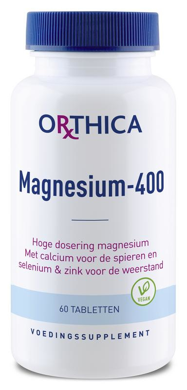 Magnesium 400 - 60 tabletten