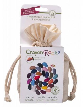 Crayon Rocks - Cotton Muslin 32 colors