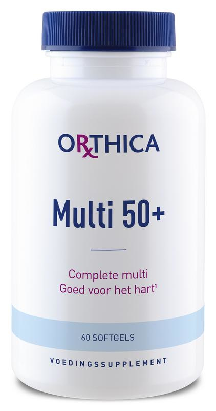 Multi 50+ - 60 softgels