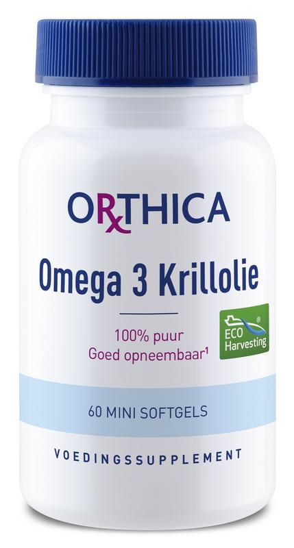 Omega 3 krillolie - 60 capsules
