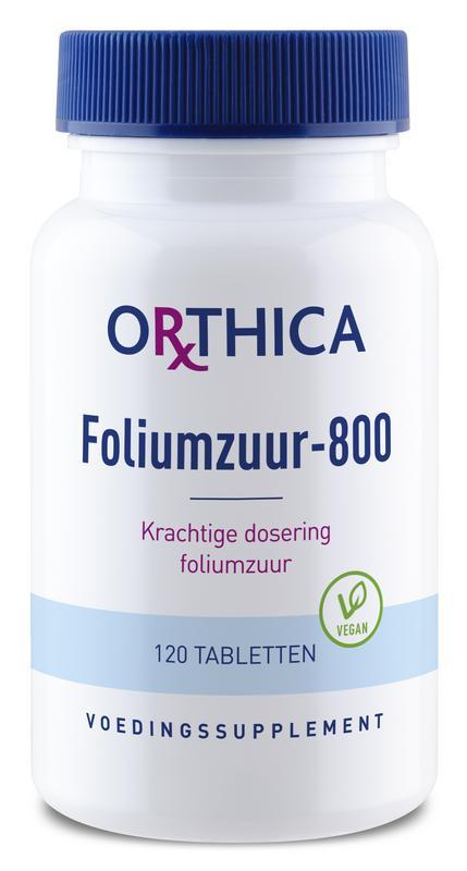 Foliumzuur 800 - 120 tabletten