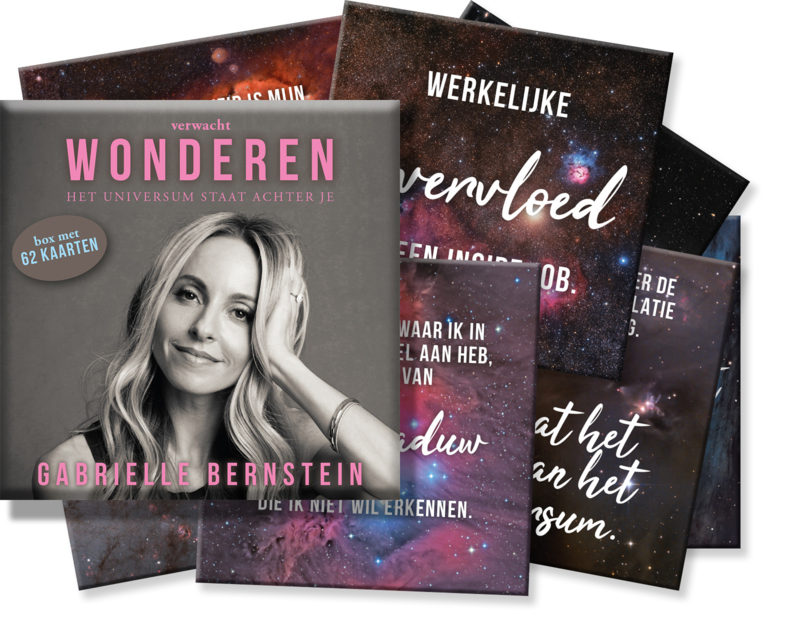 Verwacht Wonderen (kaartenset) - Gabrielle Bernstein