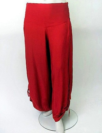 Zomerbroek rood / red