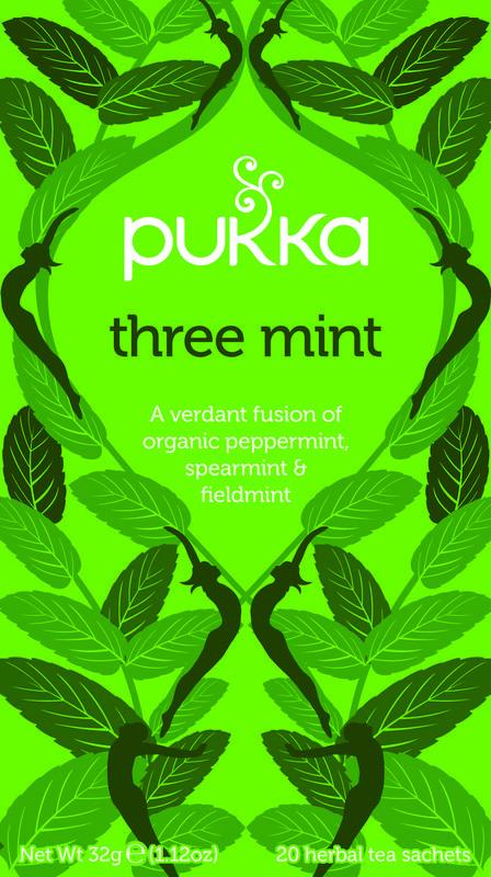 Three Mint - Pukka thee
