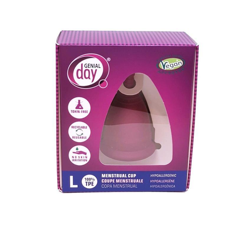 GentleDay Menstruatie Cup van TPE - Maat L