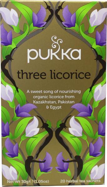 Three Licorice - Pukka thee