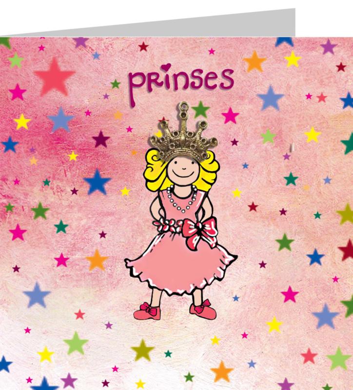 Wenskaart - Prinses