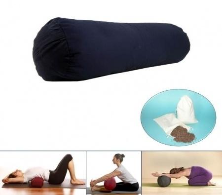 Yoga bolster - Blauw