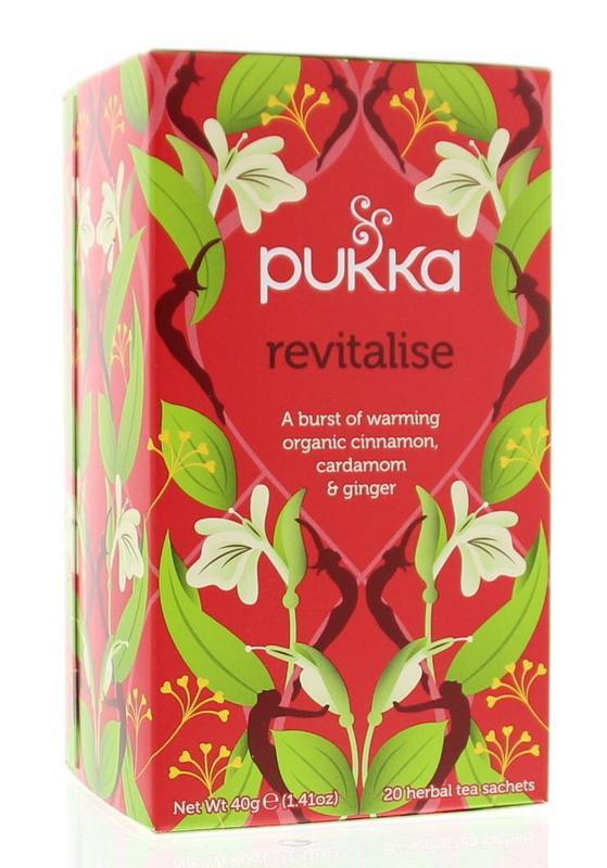 Revitalise - Pukka thee