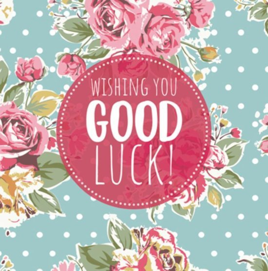 Wishing you good Luck!