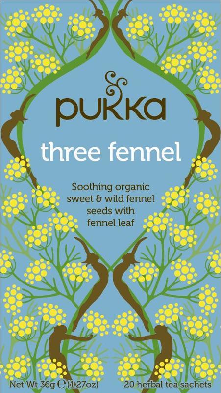 Three Fennel - Pukka thee