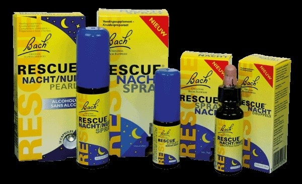 7 ml NACHT  Rescue Remedie - Spray