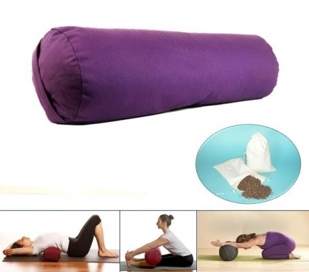 Yoga bolster - Paars