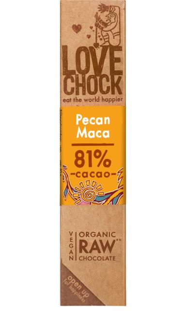Love Chock - Pecan / Maca - 100% raw chocolate