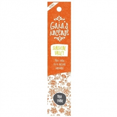 GAIA'S INCENSE FAIR TRADE -  SUNSHINE VALLEY