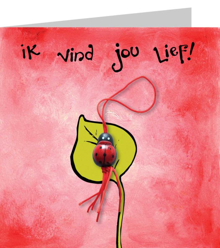 Wenskaart - Ik vind jou Lief !!