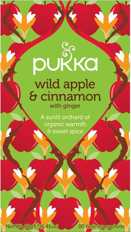 Wild apple & cinnamon - Pukka thee