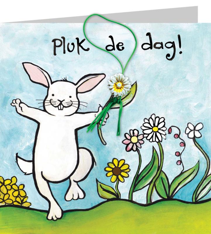 Wenskaart - Pluk de Dag !!