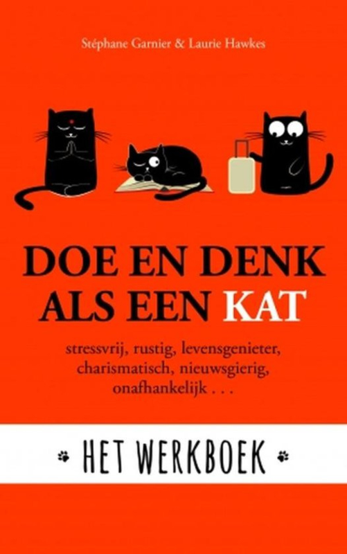 Boek - Doe en denk als een kat - werkboek
