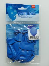 ballonnen donker blauw 10 stuks