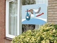 raamvlag/ gevelvlag  jongen 60 x 90 cm