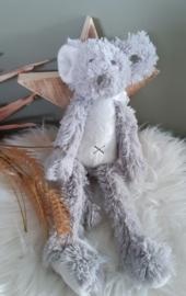 ''Happy Horse'' muis Mindy  no. 1 knuffel 30 cm grijs