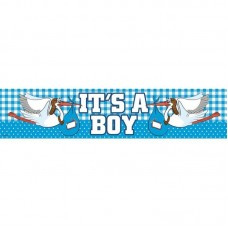 Foliebanner It's a boy ooievaar 260x19cm