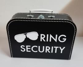 Ring Security koffertje - Koffertje Ring Beveiliger bruiloft