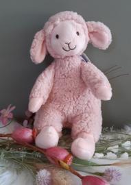 ''Happy Horse'' lam Lotus no.1 knuffel 30 cm roze
