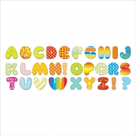 Muurstickers letters