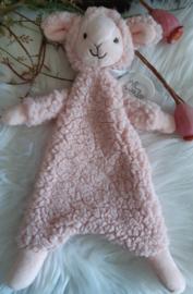 ''Happy Horse'' lam Lotus knuffeldoekje roze