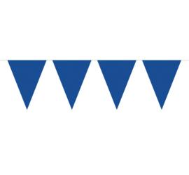 vlaggenlijn effen donkerblauw 10 meter