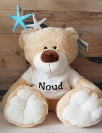 Knuffel beer Teddy met naam
