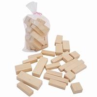 Blokken in plastic zak; 22 blokken