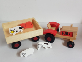 tractor met naam