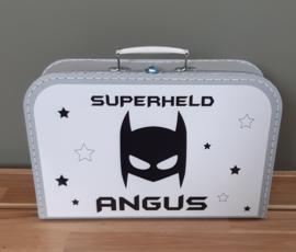 Koffertje met naam *Batman* diverse kleuren