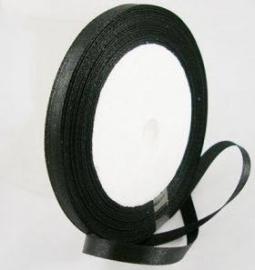 kaartenlint zwart  25 mtr