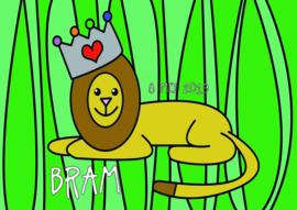 Poster met naam 'leeuw'
