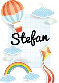 Poster met naam 'rainbow'