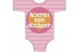 huldebord/ deurbord geboorte meisje `trendy baby girl`