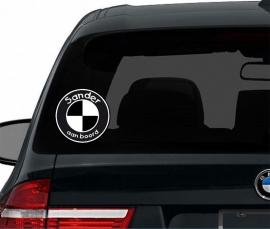 BMW autosticker baby