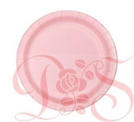 kartonnen bord roze geboorte meisje
