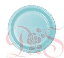 kartonnen bord blauw geboorte jongen