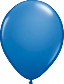 ballonnen donker blauw zonder opdruk 20 stuks