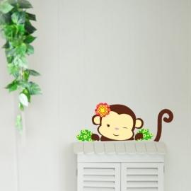 Muursticker aapje