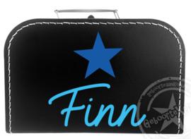 Koffertje met naam *Star* diverse kleuren