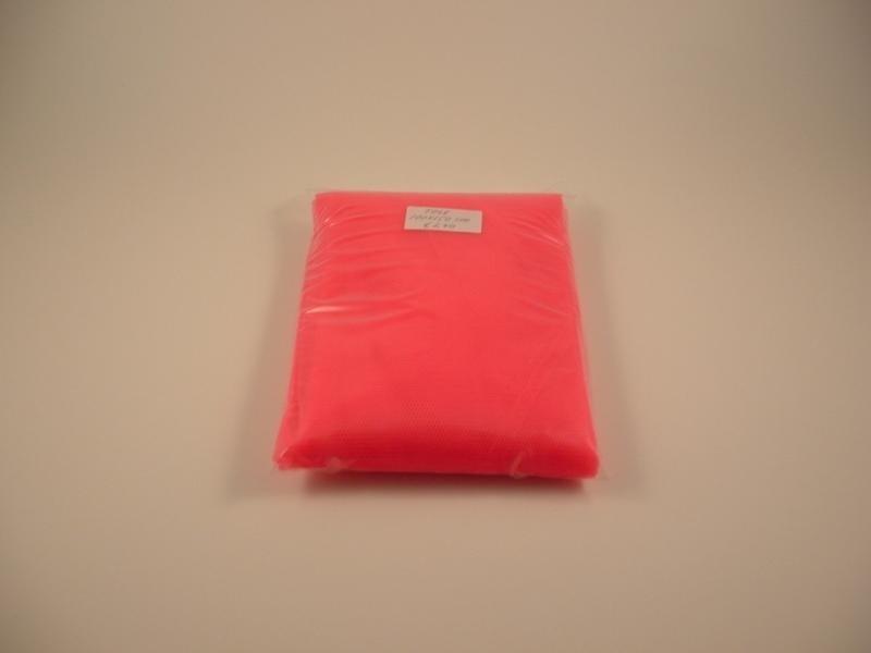 Roze tule 100 x 150 cm