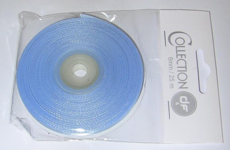 kaartenlint licht blauw geboorte jongen 25 mtr